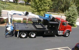 Custom Knuckleboom Test Truck